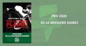 PRIX 2020 DE LA BRASSERIE BARBES